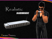 ::CreaTive DesiGn'S:: 0009 - Realistic Harmonica with Animation