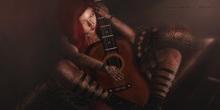 *Lesanar`s Poses* - Fem Guitar Pose 02
