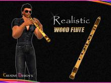 ::CreaTive DesiGn'S:: 0010 - Realistic Wood Flute w/ Animation