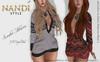 [ Nandi Style ] - Bag Dress Sweater Alanna.