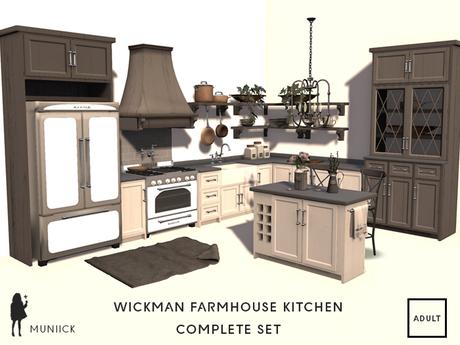 Wickman Farmhouse Kitchen Complete Set