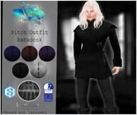.Viki. Pitch Outfit - Babadook