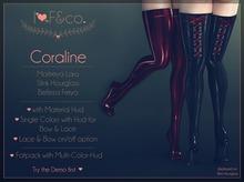 [I<3F] - Coraline - Maroon