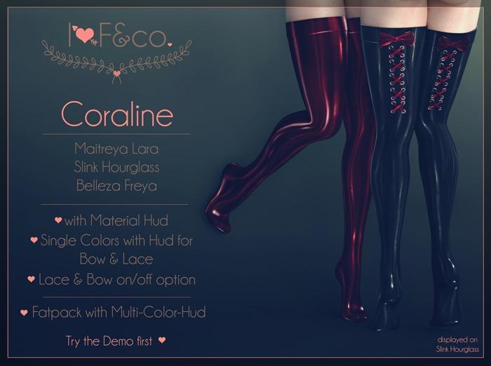 [I<3F] - Coraline - Black