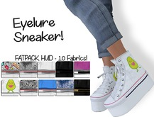 DEMO  Eyelure Platform Sneakers w/Fatpack HUD