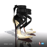 [Gos] Barbara Sandals - Black