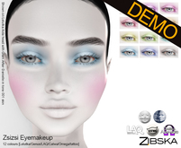 Zibska ~ Zsizsi Eyemakeup Demos [lelutka/genus/laq/catwa/omega/tattoo]