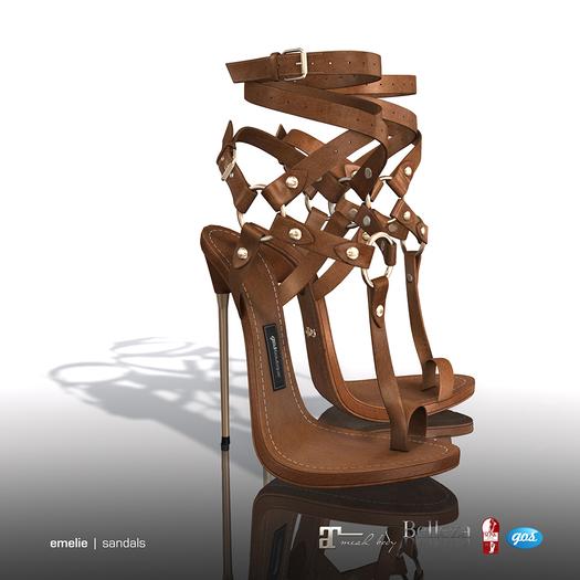 [Gos] Emelie Sandals - Tan