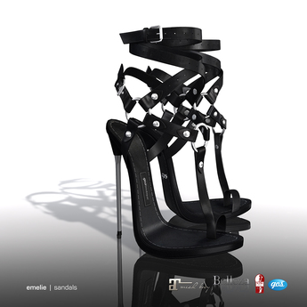 [Gos] Emelie Sandals - Black