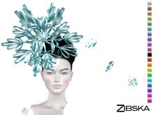 Zibska [50L Closeout] ~ Yuki Color Change Headpiece