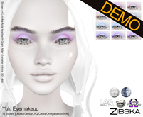 Zibska ~ Yuki Eyemakeup Demos [lelutka/genus/laq/catwa/omega/tattoo]