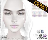Zibska ~ Yuki Lips Demos [lelutka/genus/laq/catwa/omega/tattoo]
