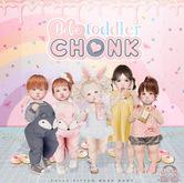 Bebe Toddler Chonk 1.1 - WEAR to unpack