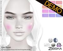 Zibska ~ Yuki Blush Blush Demos [lelutka/genus/laq/catwa/omega/tattoo]