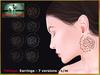Bliensen + MaiTai - Foliage - Earrings