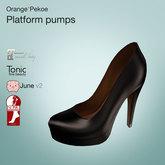 Orange*Pekoe - Platform pumps