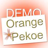 Orange*Pekoe - Party halter dress DEMO