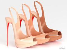 Salvadori - Demo 'Christina' Patent Leather Pumps