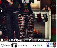 [ gi ] Xmas PJ Pants - Male <add me>
