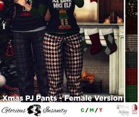 [ gi ] Xmas PJ Pants - Female <add me>