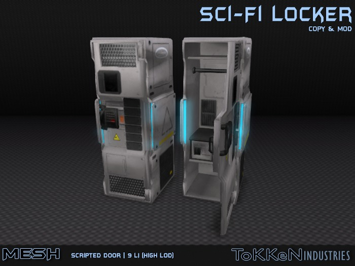 [ToKKen Industries] Sci-Fi Locker - Mesh