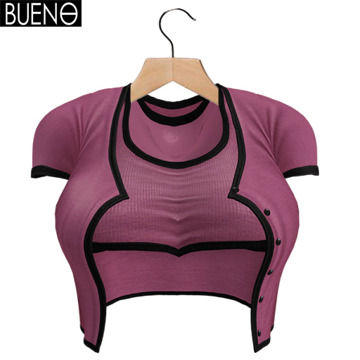 BUENO-Cardi Set-Orchid