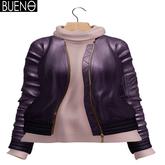 BUENO-Bomber Jacket-Grape