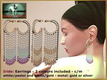 Bliensen + MaiTai - Iride - earrings - FATPACK