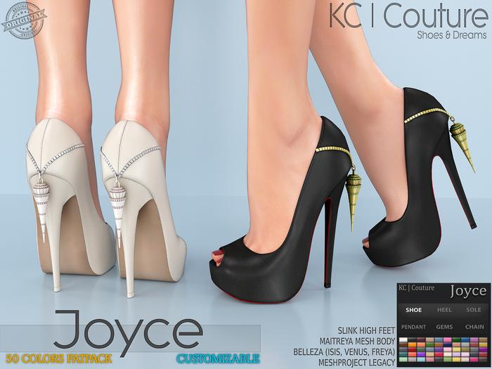 -KC- JOYCE PUMPS / MAITREYA SLINK BELLEZA LEGACY