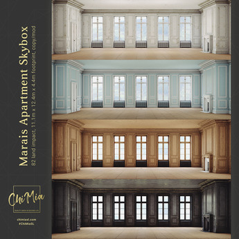 ChiMia:: Marais Apartment (Fatpack)