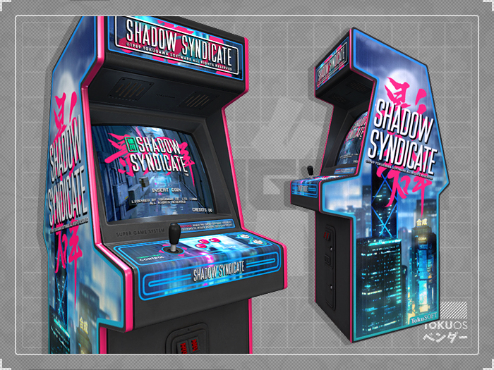 T. Shadow Syndicate The Cyberpunk Arcade Game