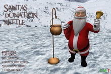 [NB] ~ Santa's Donation Kettle (Boxed)