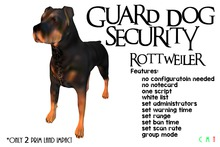 [NB] ~ Guard Dog - Rottweiler (Boxed)