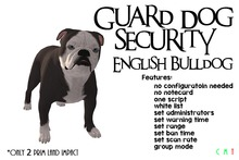 [NB] ~ Guard Dog - English Bulldog (Boxed)