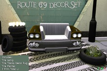 [NB] ~ Route 69 Decor Set (Boxed)