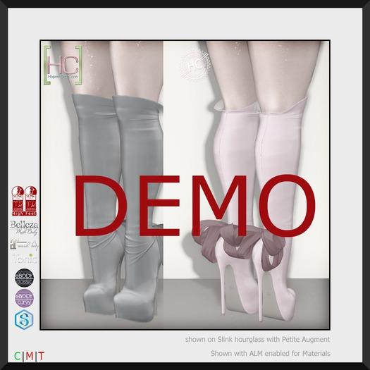 [HC] Isadora Knee Boots DEMO