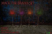 [NB] ~ Magic Fire Brazier Set (boxed)