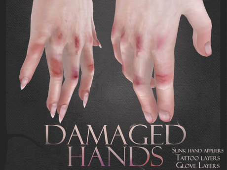 Clemmm - Damaged Hands