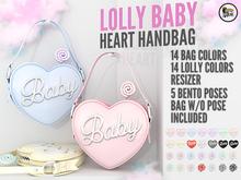 Blah. Lolly Baby-Heart Bag / Complete HUD