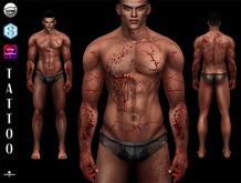 #DEMON# Scar / Blood   - Catwa / Omega / SIGNATURE Applier  18