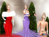 ::TD:: GLAM Christmas Gown