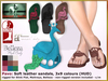 DEMO Bliensen + MaiTai - Pavo sandals