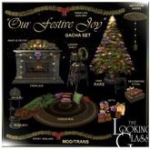 TLG - Our Festive Joy Fireplace