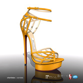 [Gos] Charlotte Sandals - Radiant Yellow
