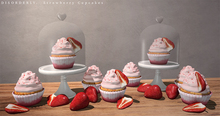DISORDERLY. / Strawberry Cupcakes