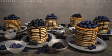 DISORDERLY. / June Berries / Blueberry Bowl