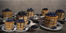 DISORDERLY. / June Berries / Blueberry Pancakes