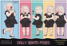 { Bellybean } Dolly Bento Poses
