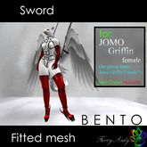 Furry Andy - Sword for Jomo Griffin female