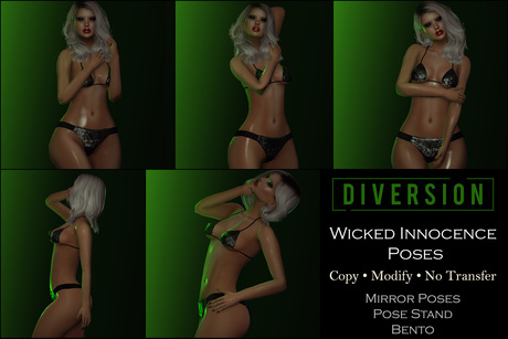 Diversion - Wicked Innocence Poses // Bento